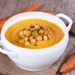 Гороховый суп с морковью