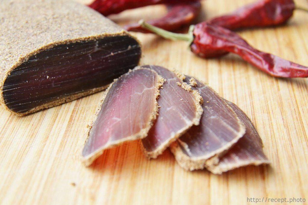 Домашняя бастурма — рецепт приготовления